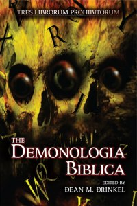 The Demonologia Biblica front cover