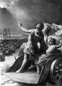 Constantine's Vision,  Battle of the Milvian Bridge